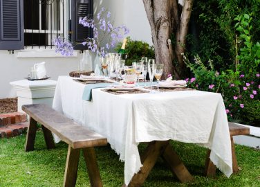 Garden Table - Beautiful Heirloom Home