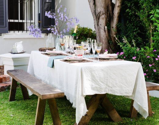 Garden Table - Beautiful Heirloom Home