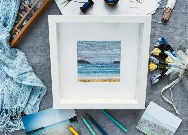 Creating a Seascape in Cross Stitch