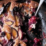 Plum, blackberry and bay friand bake by Yotam Ottolenghi - Beautiful Heirloom Home