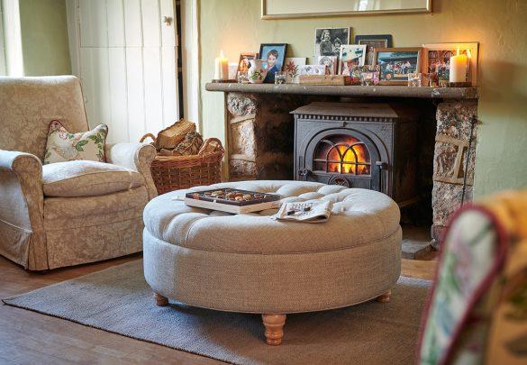 Footstool Workshop - Cream - Beautiful Heirloom Home
