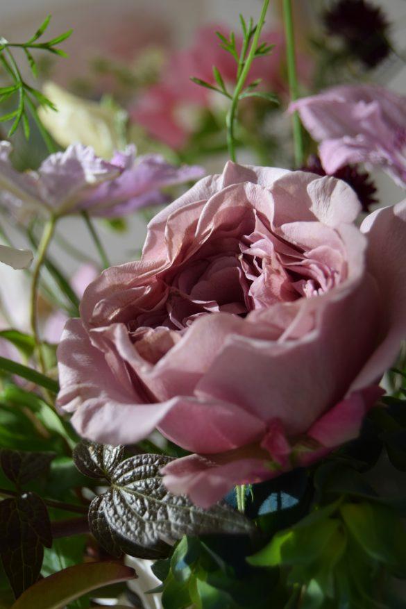 Flower Display - Beautiful Heirloom Home